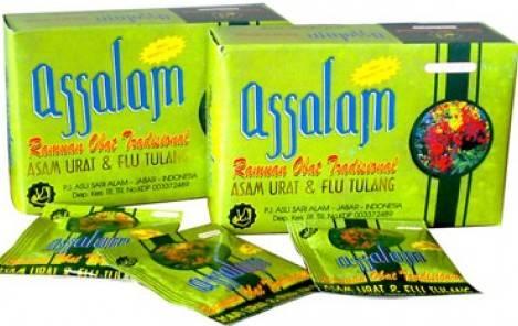 Assalam Obat Asam Urat dan Flu Tulang | TOKO ONLINE MURAH ...