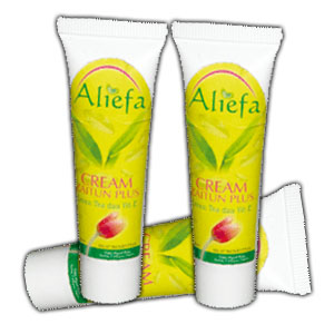 Cream Aliefa Green Tea